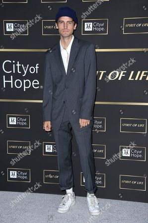 Stock Photo of Gavin Haley arrives at the City of Hope Gala, at the Barker Hangar in Santa Monica, Calif