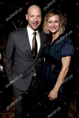 Stock Photo of Corey Stoll, Kerry Bishe
