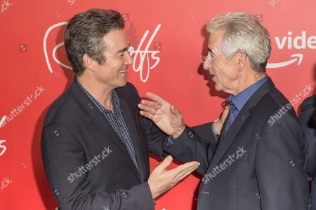 "Jon Tenney, James Naughton. Actor Jon Tenney, left and Actor/Director James Naughton attend the premiere of Amazon's new anthology series ""The Romanoffs"" at The Russian Tea Room, in New York"
