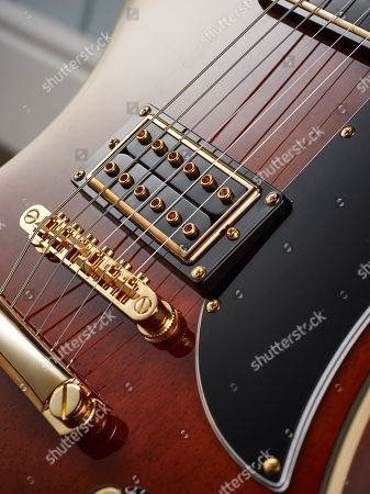 Detail Of An Epiphone Limited Edition Lee Malia Rd Custom Artisan Outfit Electric Guitar