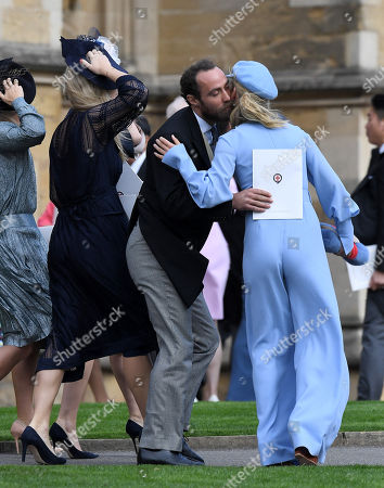 Editorial picture of The wedding of Princess Eugenie and Jack Brooksbank, Departures, Windsor, Berkshire, UK -  12 Oct 2018