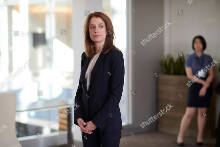 Stock Picture of Raquel Cassidy as Rachel Hargreaves.