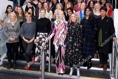 Amanda Nevill, Denise Gough, Rosamund Pike, Jessica Hynes, Andrea Riseborough and Tricia Tuttle
