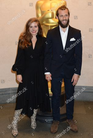 Rachel Shenton and Chris Overton