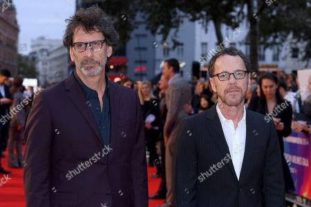 Stock Photo of Joel Coen and Ethan Coen