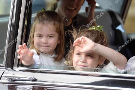 Stock Photo of Princess Charlotte and Theodora Williams