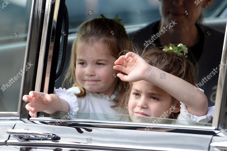 Stock Picture of Princess Charlotte and Theodora Williams