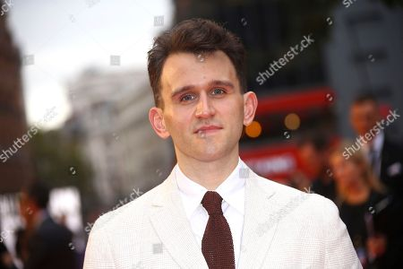 Harry Melling poses for photographers upon arrival at the premiere of the film 'The Ballad of Buster Scruggs' in London during the London Film Festival