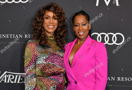 Channing Dungey and Regina King