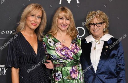 Michelle Sobrino-Stearns, Dea Lawrence and Claudia Eller