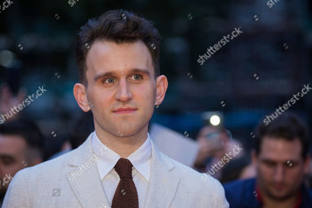 Harry Melling poses for photographers upon arrival at the premiere of the film 'The Ballad Of Buster Scruggs' showing as part of the BFI London Film Festival in London