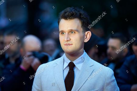 British actor Harry Melling arrives for the premiere of 'The Ballad of Buster Scruggs' at The BFI London film festival in central London, Britain, 12 October 2018. The festival runs from the 10 to 21 October.