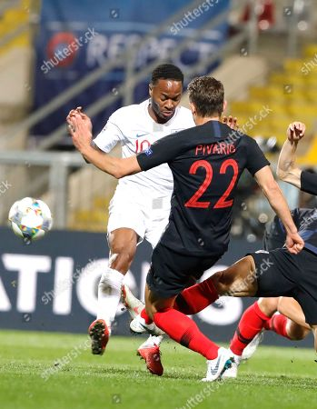 Editorial photo of Croatia vs England, Rijeka - 12 Oct 2018
