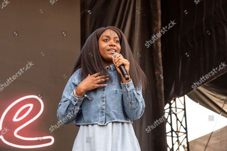 Noname, Fatimah Nyeema Warner. Noname performs on day one of the Austin City Limits Music Festival's second weekend, in Austin, Texas