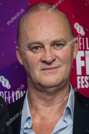 Tim McInnerny poses for photographers upon arrival at the premiere for the film 'Sometimes Always Never' showing as part of the BFI London Film Festival in London