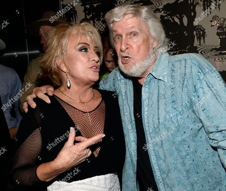 Stock Picture of Singer/Songwriters Tanya Tucker and Joe Stampley