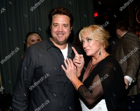 Stock Photo of Agent Lance Roberts and Tanya Tucker
