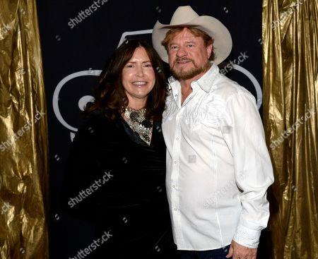 Stock Image of Julie Miller and Singer/Songwriter Paul Overstreet