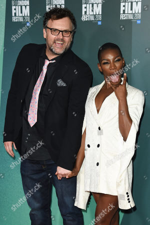 Stock Picture of Che Walker and Michaela Coel