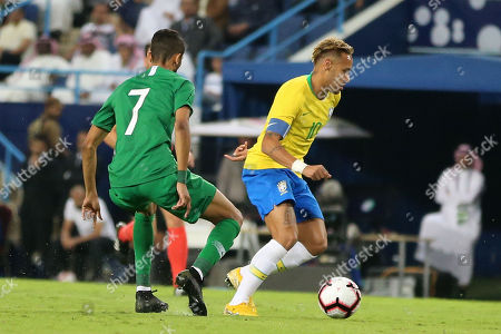 Editorial photo of Saudi Arabia vs Brazil, Riyadh - 12 Oct 2018