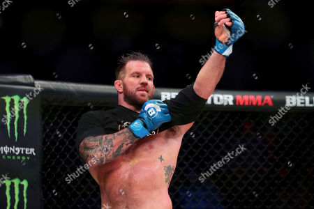 Editorial picture of Bellator 207 Mixed Martial Arts, Uncasville, USA - 12 Oct 2018