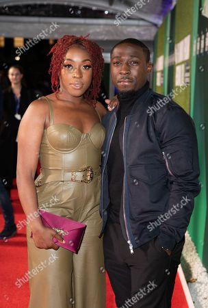 Ronke Adekoluejo and Eric Kofi Abrefa