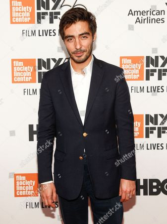 """Vladimir Consigny attends the closing night gala premiere of """"At Eternity's Gate"""" during the 56th New York Film Festival at Alice Tully Hall, in New York"""