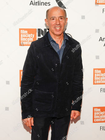 """Jon Kilik attends the closing night gala premiere of """"At Eternity's Gate"""" during the 56th New York Film Festival at Alice Tully Hall, in New York"""