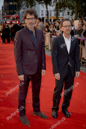 Stock Picture of Joel Coen and Ethan Coen