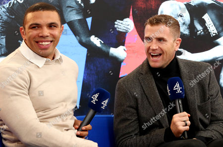 Bath vs Toulouse. Channel 4's Bryan Habana and Jamie Heaslip