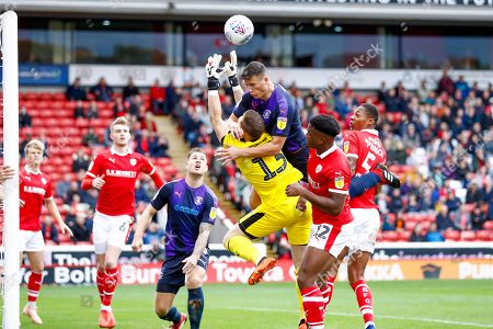 Editorial photo of Barnsley v Luton Town, EFL Sky Bet League 1 - 13 Oct 2018