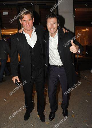 Simon Jordan and Nick Moran