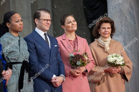 Alice Bah Kuhnke, Prince Daniel, Crown Princess Victoria, Queen Silvia