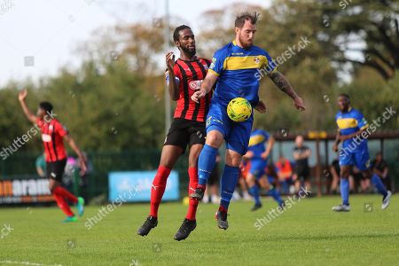 Editorial picture of Romford vs Coggeshall Town, Bostik League Division 1 North, Football, Rookery Hill, Corringham, Essex, United Kingdom - 13 Oct 2018