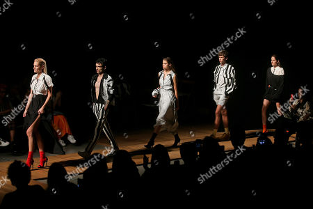Editorial picture of 51st Lisbon Fashion Week, Portugal - 13 Oct 2018
