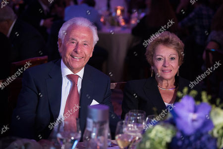 Lord Lord Levy and Lady Gilda Levy.