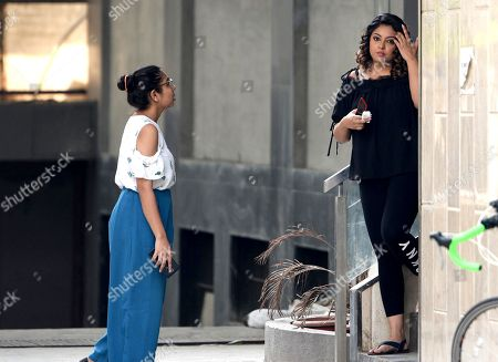 Editorial image of Tanushree Dutta out and about, Mumbai, India - 13 Oct 2018