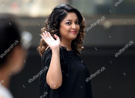 Tanushree Dutta spotted outside Media House in Andheri