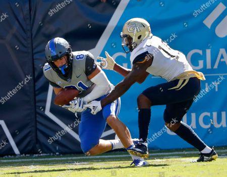 Editorial picture of Duke georgia Tech Football, Atlanta, USA - 13 Oct 2018