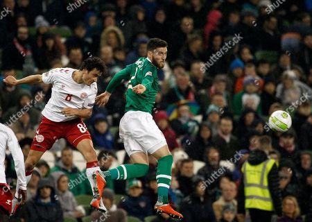 Editorial photo of Denmark Nations League Soccer, Dublin, Ireland - 13 Oct 2018