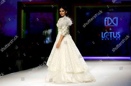 Editorial picture of Fashion, New Delhi, India - 13 Oct 2018