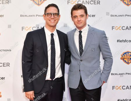 Greg Berlanti and Robbie Rogers