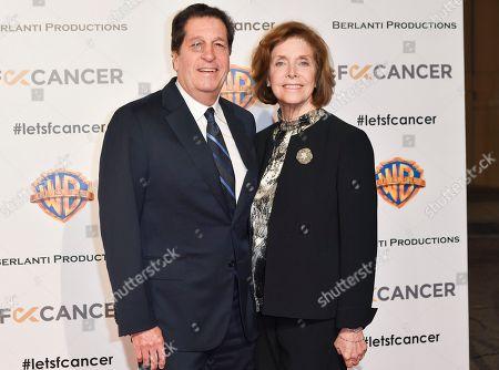 Editorial image of Barbara Berlanti, F--k Cancer Benefit, Los Angeles, USA - 13 Oct 2018