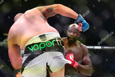 Editorial photo of Bellator 208 Mixed Martial Arts, Uniondale, USA - 13 Oct 2018
