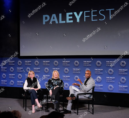 Stock Photo of Diane English (Creator, Writer), Candice Bergen and Chris Witherspoon