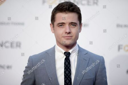 Robbie Rogers attends Barbara Berlanti Heroes Gala Benefitting FCancer at Warner Bros. Studio, in Burbank, Calif