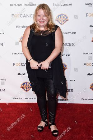 Julie Plec attends Barbara Berlanti Heroes Gala Benefitting FCancer at Warner Bros. Studio, in Burbank, Calif