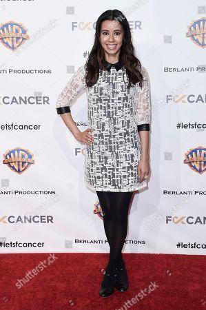 Sujata Day attends Barbara Berlanti Heroes Gala Benefitting FCancer at Warner Bros. Studio, in Burbank, Calif
