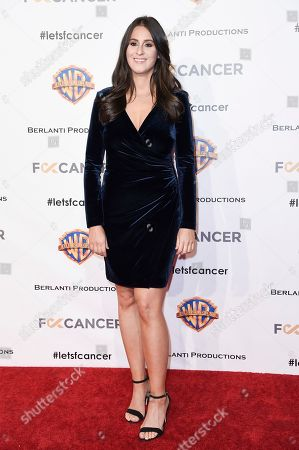Julie Greenbaum attends Barbara Berlanti Heroes Gala Benefitting FCancer at Warner Bros. Studio, in Burbank, Calif