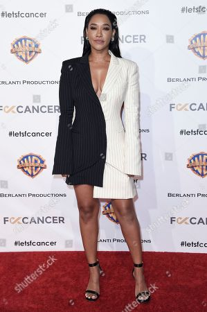 Candice Patton attends Barbara Berlanti Heroes Gala Benefitting FCancer at Warner Bros. Studio, in Burbank, Calif